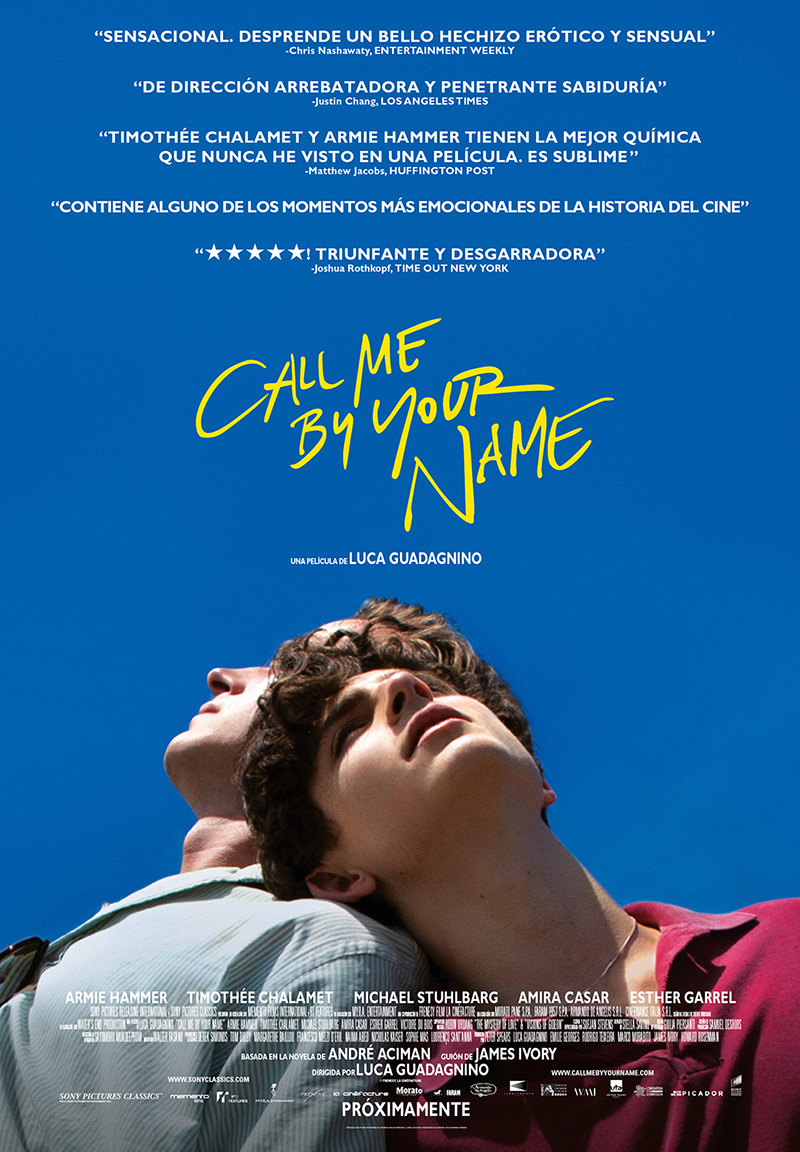 Call me by your name: una experiencia a la italiana