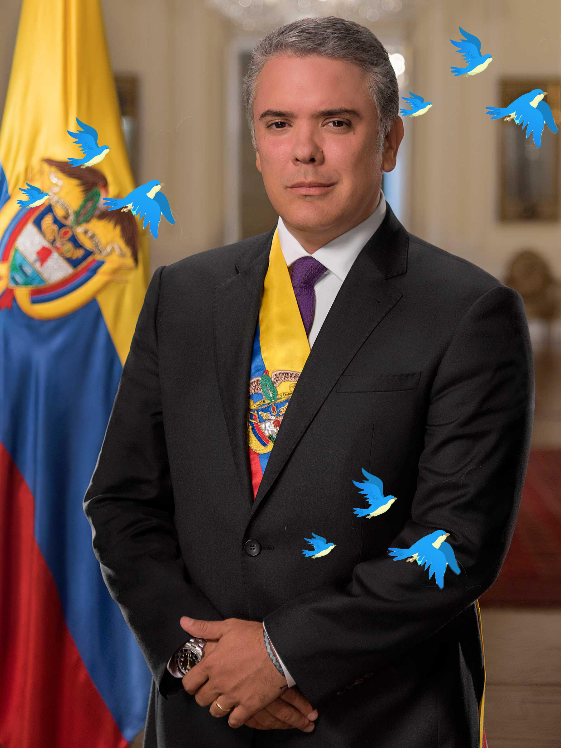 Duque y pajaritos
