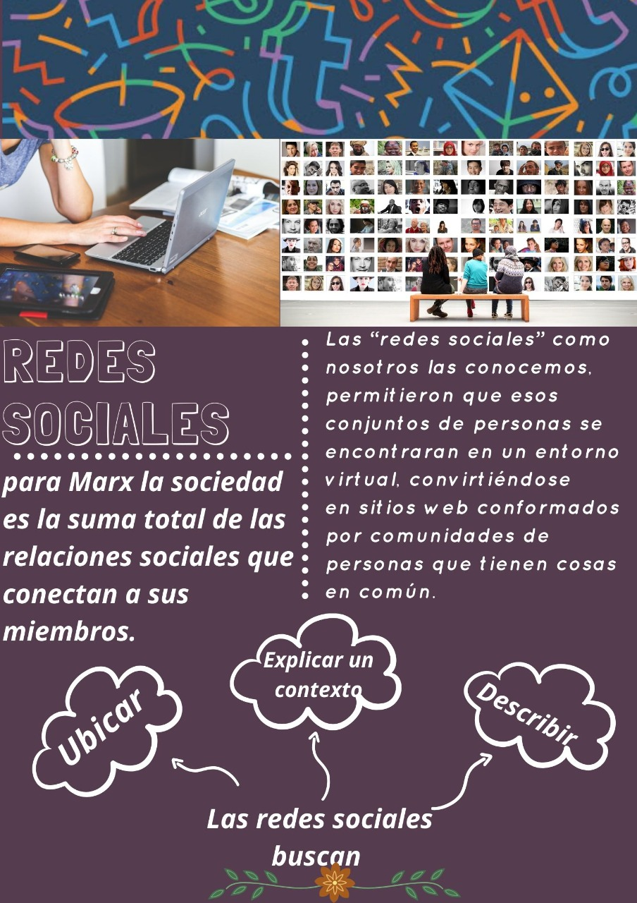 Poster redes sociales